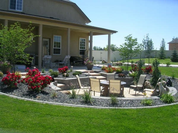 Nice Backyard Patios Various Design